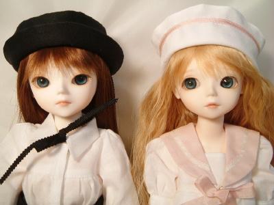 ClareちゃんとLeilaちゃん